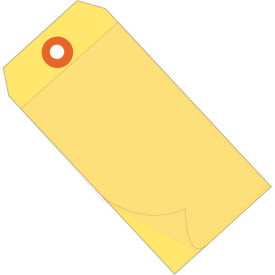 "Self Laminating Tags 4-3/4"" x 2-3/8"" Yellow - 100 Pack"