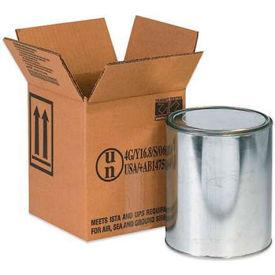 "One - 1 Gallon Haz Mat Box, 6-7/8"" x 6-7/8"" x 7-7/8"", 20/Pack"