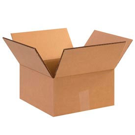 "Heavy-Duty Double Wall Cardboard Corrugated Boxes 12"" x 12"" x 8"" 275#/ECT-48 - Pkg Qty 15"