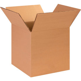 "Heavy-Duty Cardboard Corrugated Boxes 14"" x 14"" x 14"" 275#/ECT-44 - Pkg Qty 25"