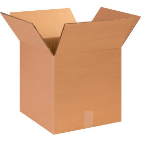 """Heavy-Duty Double Wall Cardboard Corrugated Boxes 14"""" x 14"""" x 14"""" 275#/ECT-48 - Pkg Qty 15"""
