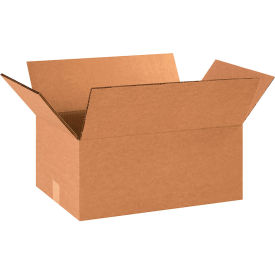 "Heavy-Duty Double Wall Cardboard Corrugated Boxes 18"" x 12"" x 8"" 275#/ECT-48 - Pkg Qty 15"