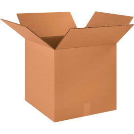 """Heavy-Duty Double Wall Cardboard Corrugated Boxes 18"""" x 18"""" x 18"""" 275#/ECT-48 - Pkg Qty 10"""
