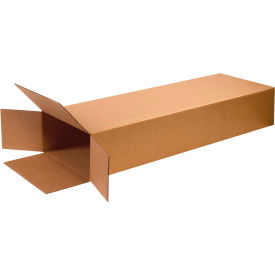 "Side Loading Cardboard Corrugated Boxes 18"" x 6"" x 45"" 275#/ECT-44 - Pkg Qty 5"