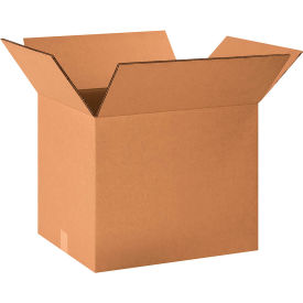 "Heavy-Duty Double Wall Cardboard Corrugated Boxes 20"" x 16"" x 16"" 275#/ECT-48 - Pkg Qty 10"