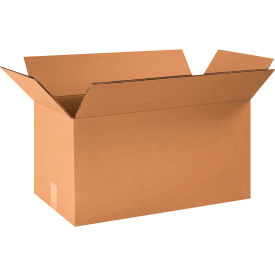 "Heavy-Duty Double Wall Cardboard Corrugated Boxes 24"" x 12"" x 12"" 275#/ECT-48 - Pkg Qty 15"