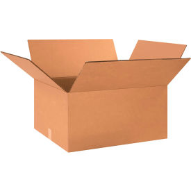 """Heavy-Duty Double Wall Cardboard Corrugated Boxes 24"""" x 20"""" x 12"""" 275#/ECT-48 - Pkg Qty 10"""