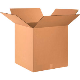 "Heavy-Duty Double Wall Cardboard Corrugated Boxes 24"" x 24"" x 24"" 275#/ECT-48 - Pkg Qty 10"