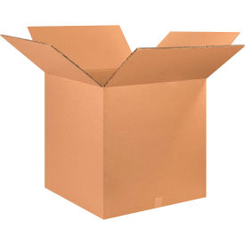 "Heavy-Duty Double Wall Cardboard Corrugated Boxes 26"" x 26"" x 26"" 275#/ECT-48 - Pkg Qty 5"