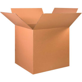 """Heavy-Duty Double Wall Cardboard Corrugated Boxes 36"""" x 36"""" x 36"""" 275#/ECT-48 - Pkg Qty 5"""