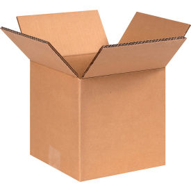 "Heavy-Duty Double Wall Cardboard Corrugated Boxes 8"" x 8"" x 8"" 275#/ECT-48 - Pkg Qty 15"