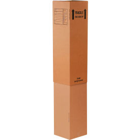 """Inner Lamp Cardboard Corrugated Boxes 12"""" x 12"""" x 46"""" 200#/ECT-32 - Pkg Qty 15"""