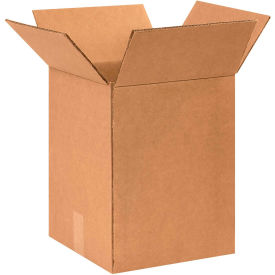 "Heavy-Duty Double Wall Cardboard Corrugated Boxes 11-1/2"" x 11-1/2"" x 15-3/8"" 275#/ECT-48 - Pkg Qty 25"
