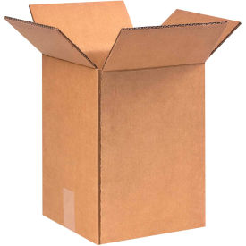 """Heavy-Duty Double Wall Cardboard Corrugated Boxes 9"""" x 9"""" x 13"""" 275#/ECT-48 - Pkg Qty 25"""