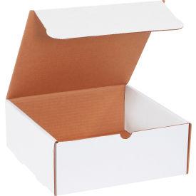 "Corrugated Literature Mailers 10"" x 10"" x 4"" 200#/ECT-32 White - Pkg Qty 50"