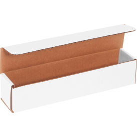 """Corrugated Mailers 10"""" x 2"""" x 2"""" 200#/ECT-32 White - Pkg Qty 50"""