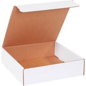 "Corrugated Literature Mailers 11-1/2"" x 11-1/2"" x 3-3/4"" 200#/ECT-32 White - Pkg Qty 50"