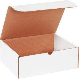 "Corrugated Literature Mailers 11-1/8"" x 8-3/4"" x 4"" 200#/ECT-32 White - Pkg Qty 50"
