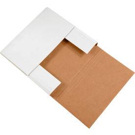 "Easy-Fold Corrugated Mailers 12-1/2"" x 12-1/2"" x 2"" 200#/ECT-32 Kraft - Pkg Qty 50"
