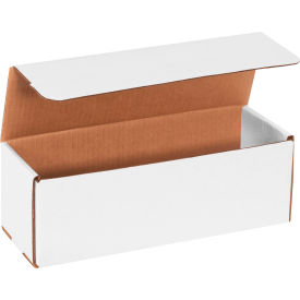 """Corrugated Mailers 12"""" x 4"""" x 4"""" 200#/ECT-32 White - Pkg Qty 50"""