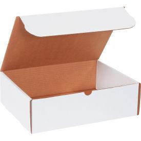 "Corrugated Literature Mailers 13"" x 10"" x 4"" 200#/ECT-32 White - Pkg Qty 50"