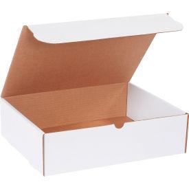 "Corrugated Literature Mailers 14-1/4"" x 11-1/4"" x 4"" 200#/ECT-32 White - Pkg Qty 50"