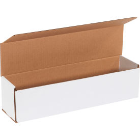 "Corrugated Mailers 16"" x 4"" x 4"" 200#/ECT-32 White - Pkg Qty 50"
