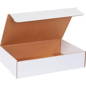 "Corrugated Literature Mailers 17-1/8"" x 11-1/8"" x 4"" 200#/ECT-32 White - Pkg Qty 50"