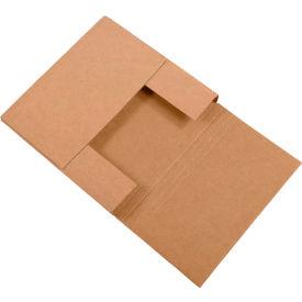 "Easy-Fold Corrugated Mailers 18"" x 18"" x 2"" 200#/ECT-32 Kraft - Pkg Qty 50"
