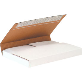 """Deluxe Easy-Fold Corrugated Mailers 11-1/8"""" x 8-5/8"""" x 2"""" 200#/ECT-32 Kraft - Pkg Qty 25"""