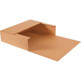 "Jumbo Fold-Over Corrugated Mailers 24"" x 20"" x 6"" 200#/ECT-32 Kraft - Pkg Qty 20"