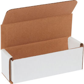 "Corrugated Mailers 6"" x 2"" x 2"" 200#/ECT-32 White - Pkg Qty 50"
