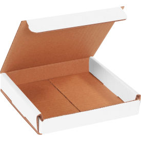 """Corrugated Mailers 6"""" x 6"""" x 1"""" 200#/ECT-32 White - Pkg Qty 50"""