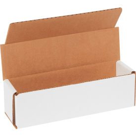 """Corrugated Mailers 7"""" x 2"""" x 2"""" 200#/ECT-32 White - Pkg Qty 50"""