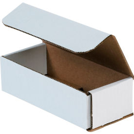 """Corrugated Mailers 7"""" x 3"""" x 2"""" 200#/ECT-32 White - Pkg Qty 50"""