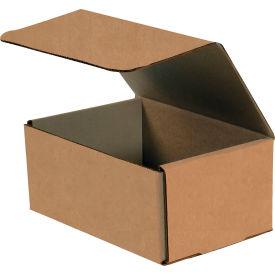 "Corrugated Mailers 7"" x 5"" x 2"" 200#/ECT-32 Kraft - Pkg Qty 50"