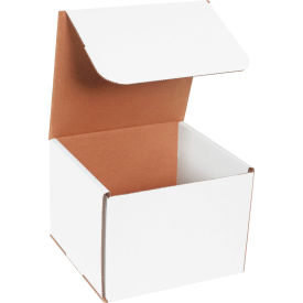 """Corrugated Mailers 8"""" x 8"""" x 6"""" 200#/ECT-32 White - Pkg Qty 50"""