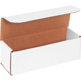 """Corrugated Mailers 9"""" x 3"""" x 3"""" 200#/ECT-32 White - Pkg Qty 50"""