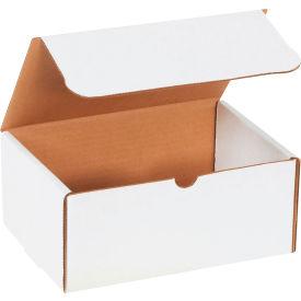 "Corrugated Literature Mailers 9"" x 6-1/4"" x 4"" 200#/ECT-32 White - Pkg Qty 50"