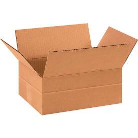 "Multi-Depth Cardboard Corrugated Boxes 11-3/4"" x 8-3/4"" x 4-3/4"" 200#/ECT-32 - Pkg Qty 25"