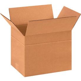 "Multi-Depth Cardboard Corrugated Boxes 11-3/4"" x 8-3/4"" x 8-3/4"" 200#/ECT-32 - Pkg Qty 25"