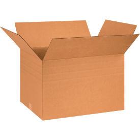 "Multi-Depth Cardboard Corrugated Boxes 26"" x 18"" x 16"" 200#/ECT-32 - Pkg Qty 10"