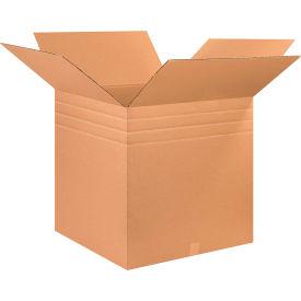 "Multi-Depth Cardboard Corrugated Boxes 26"" x 26"" x 26"" 200#/ECT-32 - Pkg Qty 10"
