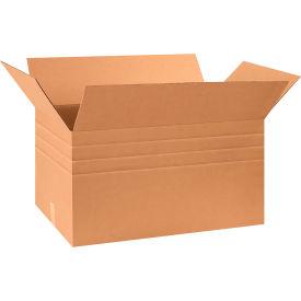 "Multi-Depth Cardboard Corrugated Boxes 30"" x 17"" x 16"" 200#/ECT-32 - Pkg Qty 15"