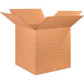 """Heavy-Duty Multi-Depth Cardboard Corrugated Boxes 26"""" x 26"""" x 26"""" 275#/ECT-44 - Pkg Qty 10"""