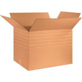 """Heavy-Duty Multi-Depth Cardboard Corrugated Boxes 32"""" x 24"""" x 24"""" 275#/ECT-44 - Pkg Qty 10"""