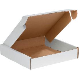 "Corrugated Tab Lock Literature Mailers 10"" x 10"" x 2"" 200#/ECT-32 White - Pkg Qty 50"