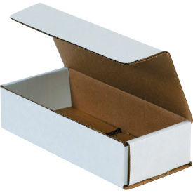 """Corrugated Mailers 7-1/2"""" x 3-1/4"""" x 1-3/4"""" 200#/ECT-32 White - Pkg Qty 50"""