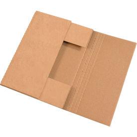 "Easy-Fold Corrugated Mailers 15"" x 11-1/8"" x 2"" 200#/ECT-32 Kraft - Pkg Qty 50"