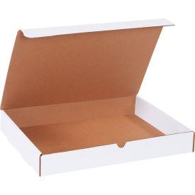 "Corrugated Literature Mailers 15-1/8"" x 11-1/8"" x 2"" 200#/ECT-32 White - Pkg Qty 50"